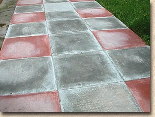 patio paver efflorescence