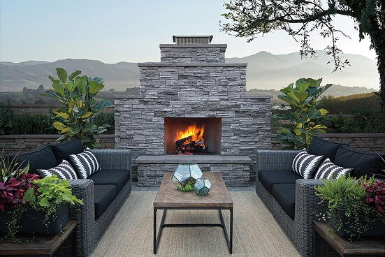 Valley City Supply Outdoor Fireplace